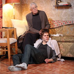 Vanessa Redgrave and Jesse Eisenberg in <i>The Revisionist</i>