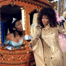 Brandy and Whitney Houston in <i>Cinderella</i>