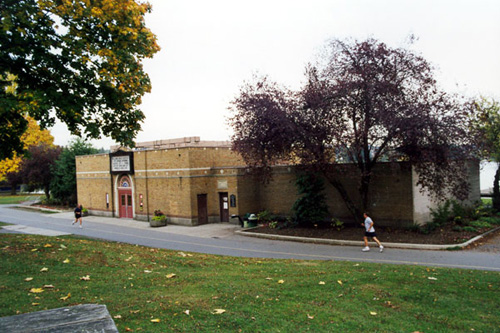 The Bathhouse Theatre in Green Lake Park.