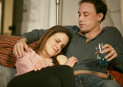 Maria Dizzia and Greg Keller in <i>Belleville</i>