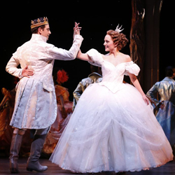 Santino Fontana and Laura Osnes in <i>Cinderella</i>