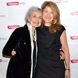 Victoria Clark (right) and her real-life Fairy Godmother, Mary Beth Peil.