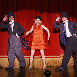 Bill Irwin, Nellie McKay, David Shiner