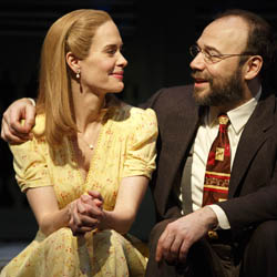 Sarah Paulson and Danny Burstein in <I>Talley's Folly</i>