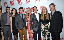 The cast of off-Broadway's <i>Really Really</i>.