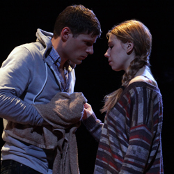 Matt Lauria and Zosia Mamet in <i>Really Really</i>