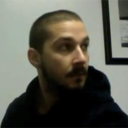 An action shot from Shia LaBeouf's <i>Orphans</i> audition video