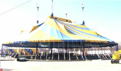 The big top comes to Citi Field.