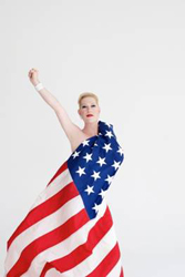 Justin Vivian Bond as &lt;i&gt;Mx America&lt;/i&gt;.