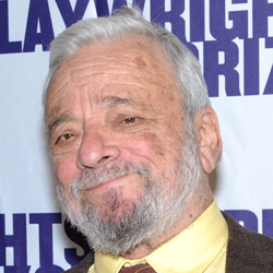 Spirit of Shakespeare Award Recipient and Artistic Honoree composer/lyricist Stephen Sondheim.