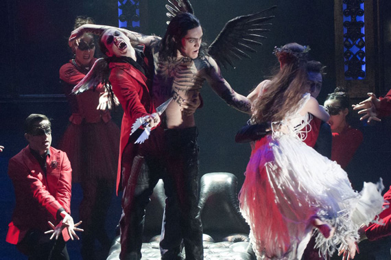 A dance of the vampires in Matthew Bourne's <I>Sleeping Beauty</I>.