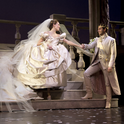 Laura Osnes and Santino Fontana in <i>Cinderella</i>