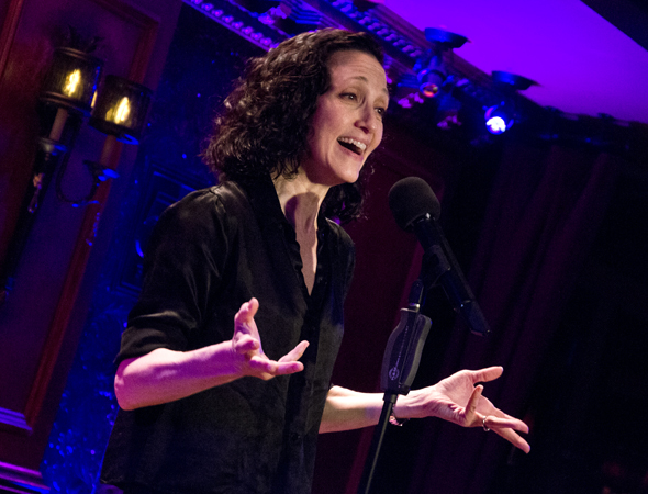 "Bebe Neuwirth performs Kander & Ebb's ""Ring Them Bells"" on stage at 54 Below."