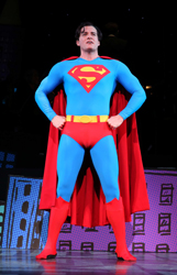 Edward Watts in City Center Encores'  <i>It's A Bird... It's A Plane... It's Superman</i>