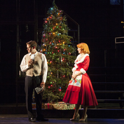 Steven Pasquale and Kelli O'Hara in <i>Far From Heaven</i>