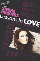 Artwork for Sierra Boggess' <i>Lessons in Love</i>
