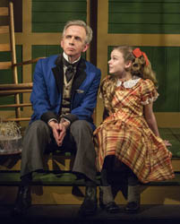 Robert Joy and Brighid Fleming in the world premiere of <i>The Nether</i>.