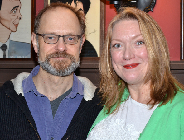 <i>Vanya and Sonia and Masha and Spike</i> castmates David Hyde Pierce and Kristine Nielsen