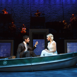 Adam Kantor and Betsy Wolfe in <i>The Last Five Years</i>