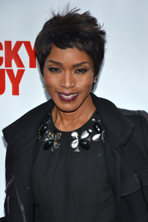 Angela Bassett is thrilled to help her husband, <i>Lucky Guy</i> cast member Courtney B. Vance, celebrate his return to Broadway.<br />(© David Gordon)