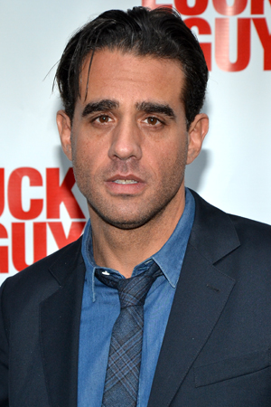 On a night off from Broadway's <i>The Big Knife</i>, Bobby Cannavale checks out <i>Lucky Guy</i>.<br />(© David Gordon)