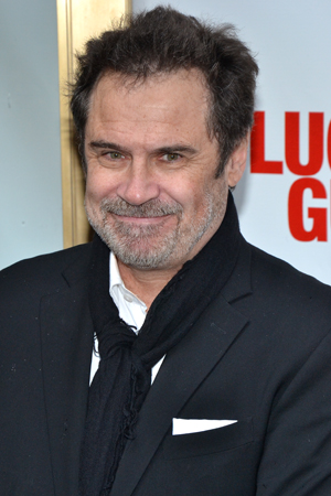 Dennis Miller supports his pal Tom Hanks by attending Hanks' Broadway opening.<br />(© David Gordon)