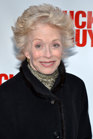 <i>Ann</i> playwright/performer Holland Taylor is excited to watch her former <i>Bosom Buddies</i>, Tom Hanks and Peter Scolari, in action.<br />(© David Gordon)