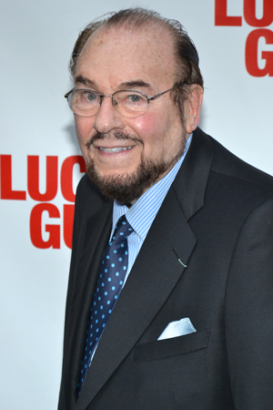 Will <i>Inside the Actors Studio</i> host James Lipton have any questions for the cast of <i>Lucky Guy</i>?<br />(© David Gordon)