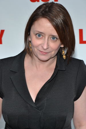 Rachel Dratch is ready for a night at the theater.<br />(© David Gordon)