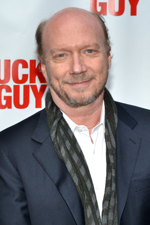 Film director Paul Haggis gets ready to check out <i>Lucky Guy</i>.<br />(© David Gordon)
