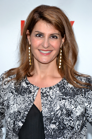 Nia Vardalos had her career launched by <i>Lucky Guy</i> star Tom Hanks and his wife, Rita Wilson, when they produced her film <i>My Big Fat Greek Wedding</i>.<br />(© David Gordon)