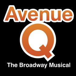 Artwork for <i>Avenue Q</i>.