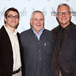 Greg Pierce, John Kander, and Walter Bobbie