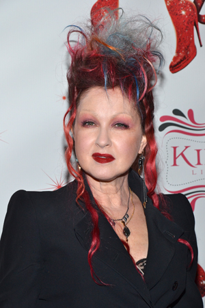 With <i>Kinky Boots</i>, Cyndi Lauper makes her Broadway songwriting debut.<br />(© David Gordon)