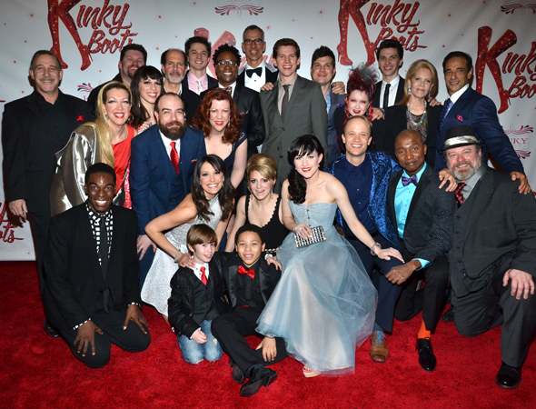 Members of the <i>Kinky Boots</i> family.<br />(© David Gordon)