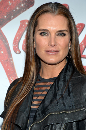 Brooke Shields brought her piercing gaze to the show.<br />(© David Gordon)