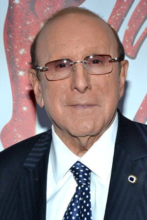 Music mogul Clive Davis shows his support for Cyndi Lauper's Broadway songwriting debut. <br />(© David Gordon)