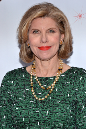 Tony Award winner Christine Baranski is always a welcome face at any Broadway opening.<br />(© David Gordon)