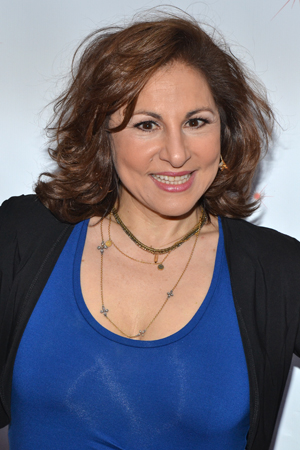 Funny lady Kathy Najimy is about to get kinky. <br />(© David Gordon)