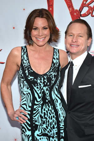 Countess LuAnn de Lesseps (<I>The Real Housewives of New York</I>) and Carson Kressley (<I>Queer Eye</I>) are Bravo reality show friends. <br />(© David Gordon)