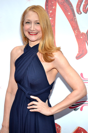 Emmy Award winner Patricia Clarkson (<I>Six Feet Under</I>) loves the boots.<br />(© David Gordon)