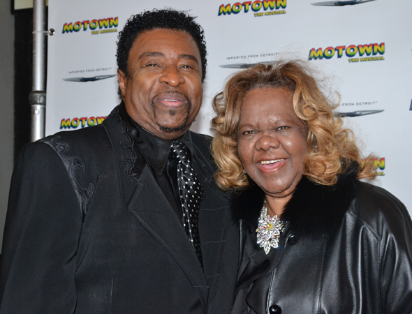 Temptations member Dennis Edwards joins