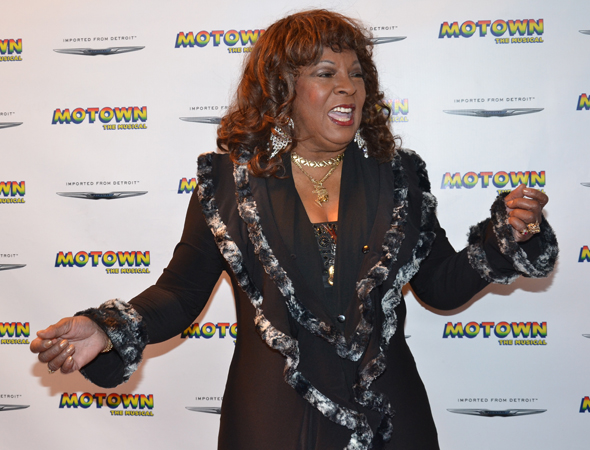 Martha Reeves of Martha and the Vandellas is in the mood to dance.<br />(© David Gordon)