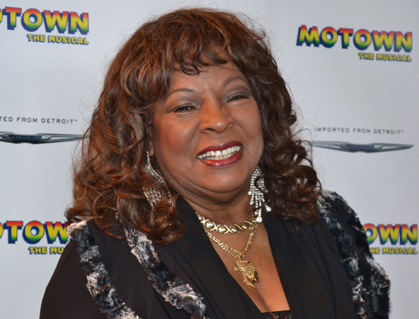 Martha Reeves smiles for the cameras.<br />(© David Gordon)