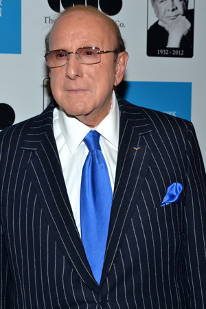 Clive Davis was among the presenters as part of the evening's program.<br />(© David Gordon)