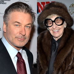 Alec Baldwin and Elaine Stritch