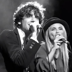 Mika and Kristin Chenoweth