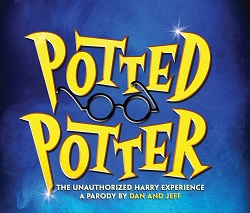 Production artwork for <I>Potted Potter</i>