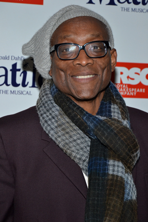 Tony Award-winning choreographer Bill T. Jones is ready for a night out at <i>Matilda</i>.<br />(© David Gordon)