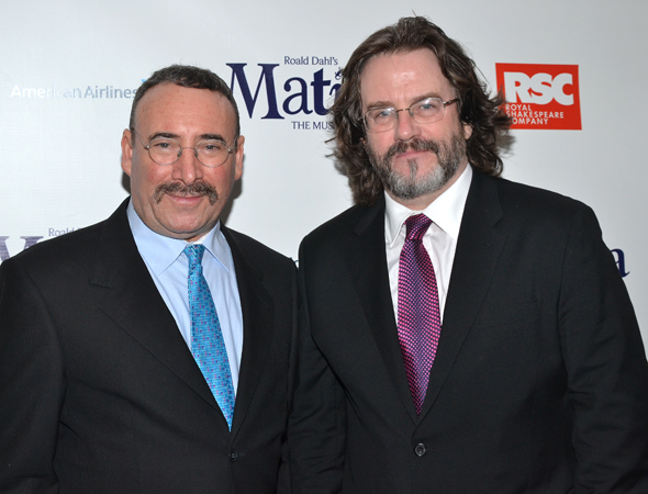 Tony Award nominee Antony Sher smiles alongside his partner, Royal Shakespeare Company Artistic Director Gregory Doran.<br />(© David Gordon)